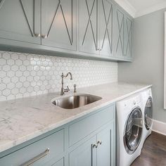 The Little-Known Secrets to Laundry Room Design Ideas There are lots of design ideas in the post basement laundry room which you are able to find, you will see ideas in the gallery. Therefore, if you're searching for design suggestions… Continue Reading → Mudroom Laundry Room, Laundry Room Remodel, Laundry Room Cabinets, Small Laundry Rooms, Laundry Room Island, Laundry Room Countertop, Laundry Storage, Kitchen Island, Room Tiles Design