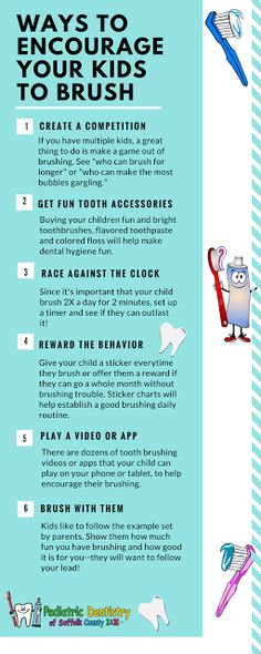 Pediatric Dentistry of Suffolk County: 6 Ways To Encourage Your Kids To Brush