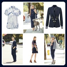Spring Trend '17 - In the Navy, the color navy and nautical details