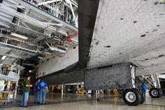 /by NASA #KSC #OPF #Atlantis #space #shuttle #TPS #tiles