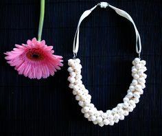 Handmade Swarovski Pearl bauble necklace. Tassel Necklace, Swarovski Pearls, Handmade Jewellery, Glitter, Jewelry, Jewellery Making, Handmade Jewelry, Handcrafted Jewelry