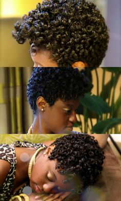 by Portia ofhuneybflyy.com When you're just beginning your natural hair journey and you're sporting a TWA, it can be discouraging to look at all of the veterans wearing their bodacious curls. Some…