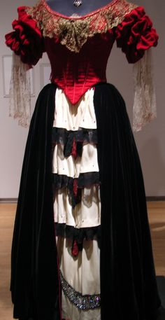 Elena's dance dress from the Mask of Zorro