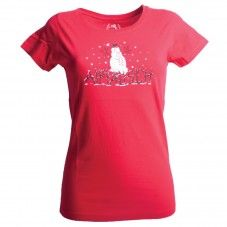 Red snowman Alprausch women's T-shirt Snowmen, T Shirts For Women, Red, Mens Tops, Fashion, Moda, Snowman, Fashion Styles, Fasion