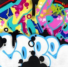 COPE2 - SANS TITRE - DAVID PLUSKWA ART CONTEMPORAIN http://www.widewalls.ch/artwork/cope-2/sans-titre-14/ #Acrylic