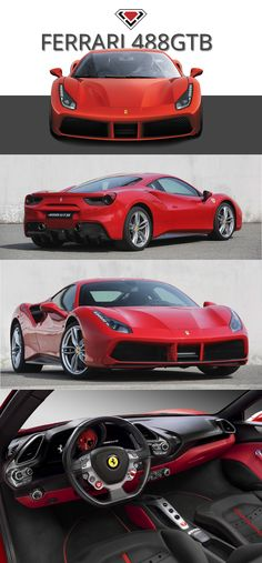 The Ferrari 488GTB A NEW CHAPTER IN THE HISTORY OF 8 CYLINDER The 488 GTB name marks a return to the classic Ferrari model designation with the 488 in its moniker indicating the engine's unitary displacement, while the GTB stands for Gran Turismo Berlinetta. The new car not only delivers unparalleled performance, it also makes that extreme power exploitable and controllable to an unprecedented level even by less expert drivers.