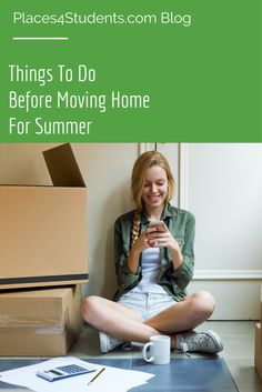 Before you move home for summer you might want to tackle these things first! [BLOG]
