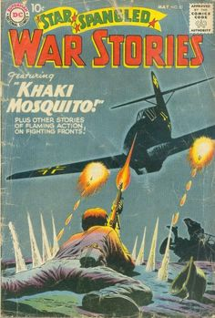 Silver and Bronze Age Subjects: DC Big 5 War Comics: Star-Spangled War Stories