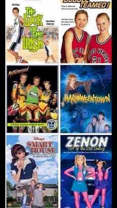 I love this movie. There's something about Disney Channel Movies I ...