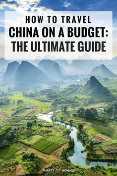 How to Travel China on the Cheap: The Ultimate Guide #china #budgetchina