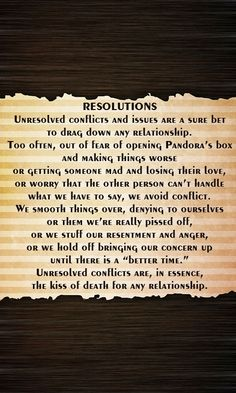 Resolve conflict as soon as it occurs. #relationshipadvice #couples #lastinglove #iloveu #justthetwo #usagainsttheworld #soulmates