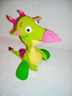draco the dragon baby tv toy