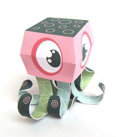 octobert paper toy