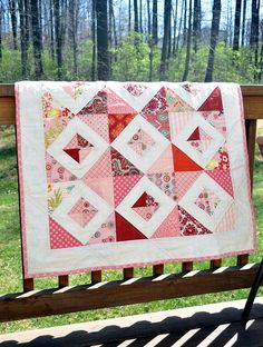 Strip quilt done like A. does her tube quilts