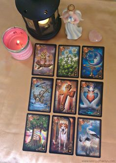 The Hope, Love & Faith Relationship Lenormand Spread with the Gilded Reverie Lenormand by Ciro Marchetti