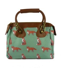 Mr Fox Luxx Bag van Pigeons op Etsy, £50.00