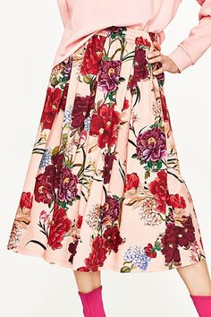 No spring/summer is complete without a hefty dose of florals but this season add a sexy señorita twist to the trend by opting for deep red flower patterns. A hit last summer thanks to Cali-cool label Realisation Par, this year even the grown-up brands are jumping on the red floral bandwagon, with everyone from Carven to Rochas marrying the dramatic shade with the soft pattern.