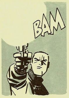 the-spinner-rack:  BAM (by Darwyn Cooke from Parker: Slayground, 2013)