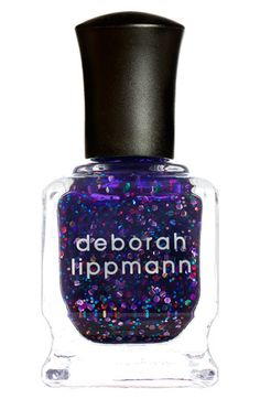 Deborah Lippmann 'Let's Go Crazy' Glitter Nail Color available at #Nordstrom