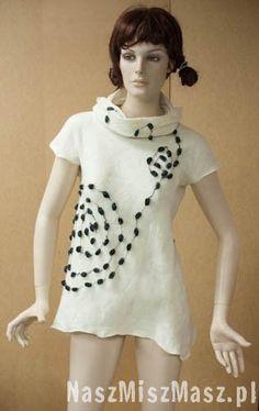 Ubrania Short Sleeve Dresses, Dresses With Sleeves, Tunics, How To Wear, Fashion, Moda, Sleeve Dresses, Tunic, Fashion Styles