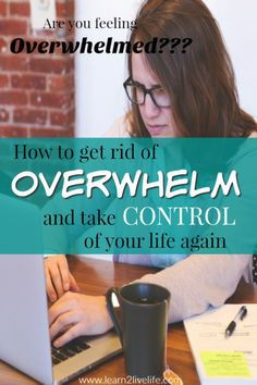 How to get rid of Overwhelm