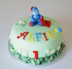 In the night garden, iggle piggle birthday cake