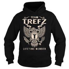 Team TREFZ Lifetime Member - Last Name, Surname T-Shirt