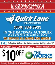 memorial weekend nascar race 2015