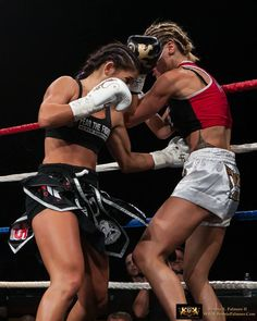 tiffany van soest | kick boxing muai thai