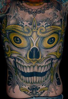 * Bilinick: Full Back Tattoos *