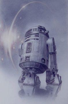 Star Wars - R2D2 by Tsuneo Sanda *