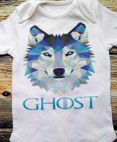 Ghost Wolf  Wall Watcher  Guard Dog Baby Baby Boy Watchman