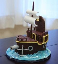 jake and the neverland pirates cakes | Jake & the Neverland Pirates - by 3DSweets @ CakesDecor.com - cake ...
