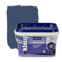 GAMMA muurverf koningsblauw mat 2 in de beste prijs-/kwaliteitsverhouding, volop keuze bij GAMMA
