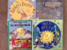 Some good books for our bread study!