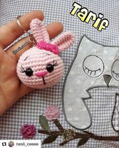 Mesmerizing Crochet an Amigurumi Rabbit Ideas. Lovely Crochet an Amigurumi Rabbit Ideas. Kawaii Crochet, Cute Crochet, Crochet Gifts, Crochet Dolls, Crochet Chain, Crochet Rabbit, Easter Crochet, Easy Crochet Patterns, Crochet Projects
