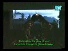 peter cetera - glory of love (Subtitulado Ingles-Español)