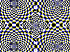 Cool Moving Optical Illusions | Tell us what you're thinking... and oh, if you want a pic to show with ...