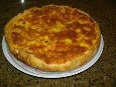 Receitas práticas de culinária: TARTE DE FIAMBRE E ANANÁS
