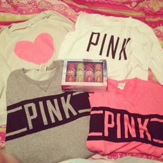 Comfy Outfit - Love Pink Sweaters
