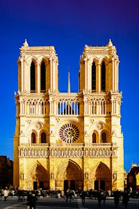 The Notre Dame Cathedral - Thought we were suppose to go in the side door, where the line was.  Little did we know what it led us to!