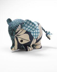 Indigo elephant sachet