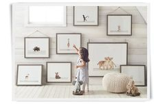 the animal print shop prints are so adorable!  Rooms   Restoration Hardware Baby & Child