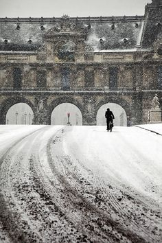 by #ChristopheJacrot #winter #snow #arches
