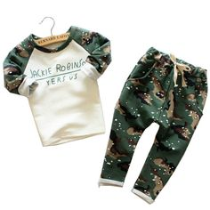 $16.90 (Buy here: https://alitems.com/g/1e8d114494ebda23ff8b16525dc3e8/?i=5&ulp=https%3A%2F%2Fwww.aliexpress.com%2Fitem%2F2016-Newborn-Camo-Suit-Fashion-Comfortable-Cotton-2PCS-Baby-Boy-Clothes-Long-Sleeved-T-shirt-Casual%2F32658847224.html ) 2016 Newborn Camo Suit Fashion Comfortable Cotton 2PCS Baby Boy Clothes Long Sleeved T-shirt + Casual Pants Free Shipping for just $16.90