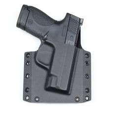 Smith and Wesson M&P Shield OWB Conceal Carry Kydex Gun Holster. Bravo concealment's BCA Gun Holster is The BEST for outside the waist band concealment. https://www.bravoconcealment.com/collections/owb-outside-the-waistband-holsters/products/owb-kydex-gun-holster-bca?variant=4265511681&utm_content=bufferc59f4&utm_medium=social&utm_source=pinterest.com&utm_campaign=buffer