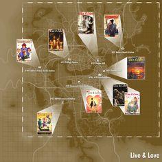 Live and Love locations Fallout 4 Secrets, Fallout Tips, Fallout Facts, Fallout Funny, Fallout Fan Art, Fallout Perks, Fallout 4 Weapons, Fallout Four, Fallout Comics