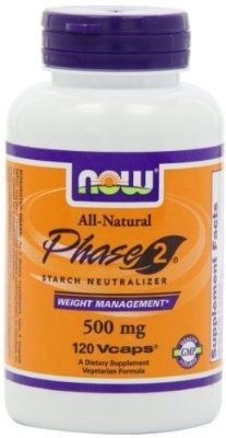 NOW Foods Phase 2 Starch Neutralizer 500mg, 120 Vegetarian Capsules - For Sale Check more at http://shipperscentral.com/wp/product/now-foods-phase-2-starch-neutralizer-500mg-120-vegetarian-capsules-for-sale/