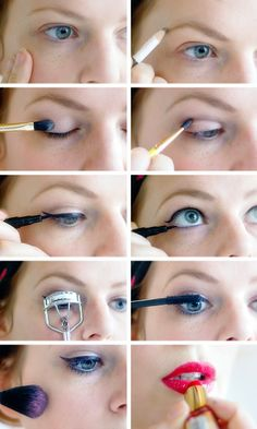 Make Up How to: easy 'everyday' vintage basics you should know