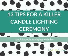 The 19 Best Candle Lighting Ceremony Images On Pinterest